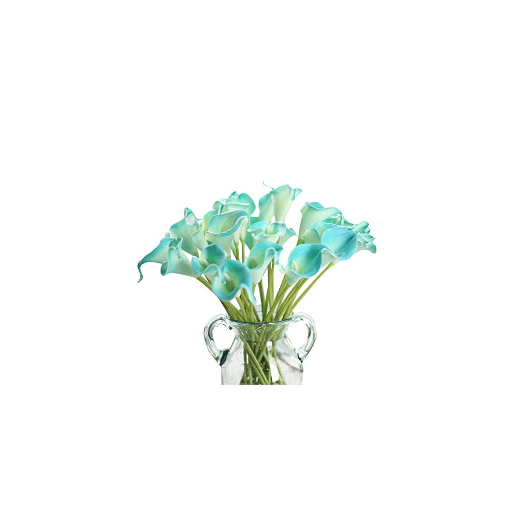 Artificial-Flowers-Fake-Flowers-Silk-Plastic-Artificial-Calla-Lily-Bridal-Wedding-Bouquet-for-Home-Garden-Party-Wedding-Decoration-12Pcs-Pure-White