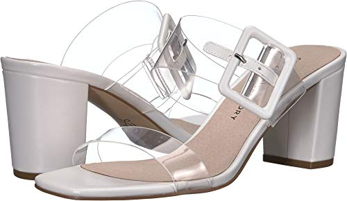 Chinese Laundry Women's Yippy Clear/White Vinyl 8.5 M US