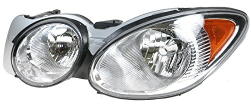 Headlamp Headlight Left LH Driver Side for 05-07 Buick LaCrosse