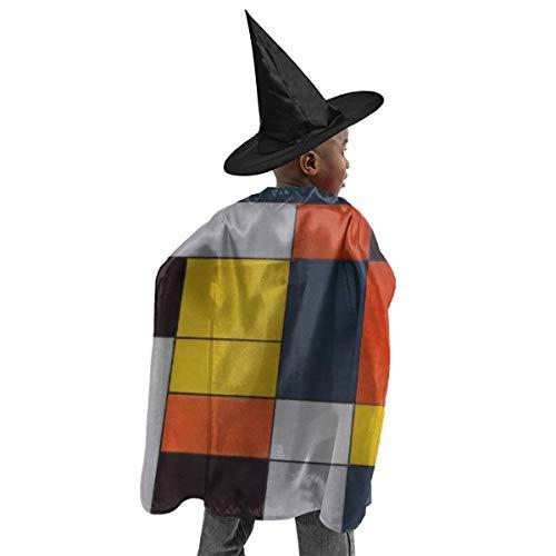 YUIOP Deluxe Halloween Children Costume Mondrian Blocks