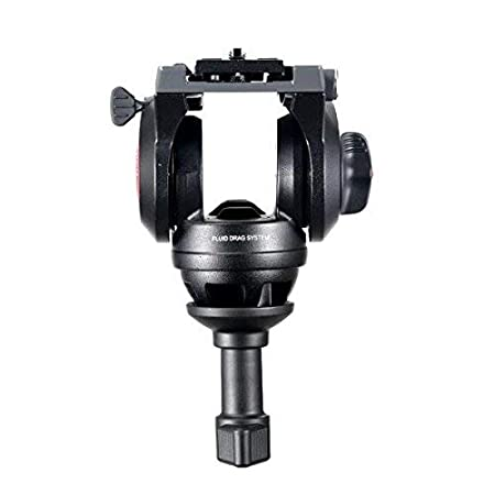 Manfrotto MVH500A Pro Fluid Head with 60mm Half Ball Black