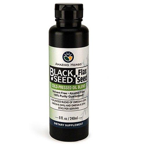 Amazing Herb Black Seed w/Flax Seed Oil