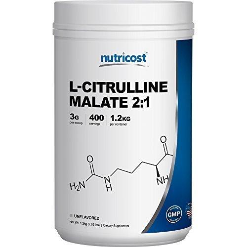 Nutricost L-Citrulline Malate Powder (2:1) 1.2KG