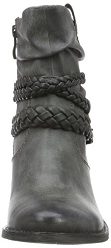 Mujer Botines Marco GREY COM 202 25354 ANTIC Gris para Tozzi PPpw1nq6g