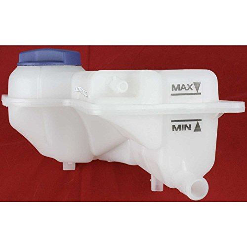 Plastic Reservoir (Evan-Fischer EVA11872033754 New Direct Fit Coolant Reservoir Expansion Tank for A4 02-09 Plastic With cap)