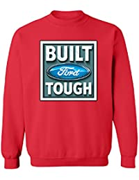 Official Ford Built Tough Unisex Crewneck Brand New Sweater