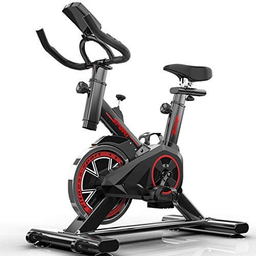 Indoor Cycling Bike Spinning Bicycle, Stille Magnetische Weerstand Fitnessfiets En Ab-trainer, Speedbike Met…