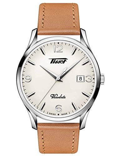 Tissot Men's Heritage Visodate - T1184101627700 Light Brown/Silver One Size