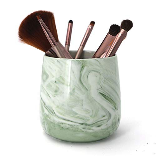 LUANT Ceramic Tumbler Cup for Toothbrush, Toothpaste, Pens, Makeup Brushes Holder ()