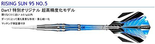 RISING SUN No5 21.5g 特別な超高精度化モデル 村松治樹モデル【ソフトダーツ】