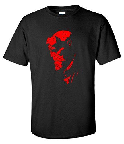 Fools Gold T-shirts Hellboy Superhero Movie Black Mens T-Shirt (XX-Large)