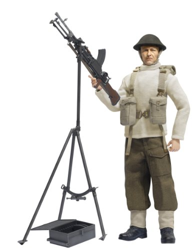 Dragon Models 1/6 British Bren Gun with Anti-Aircraft Tripod (Air Models Anti Gun)