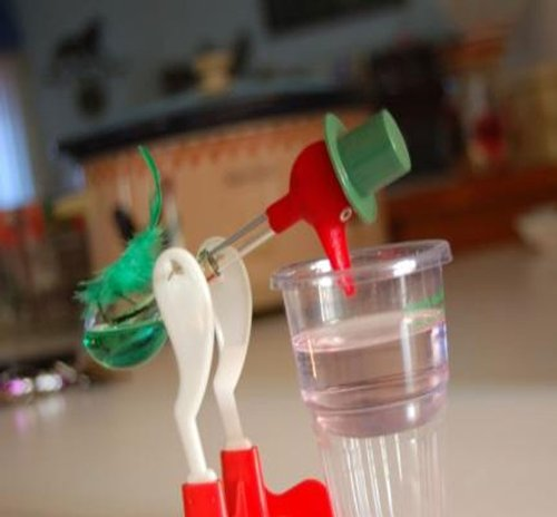 Amazon.com: The Famous Drinking Bird: Toys & Games