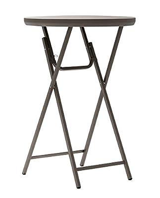 Cosco Commercial Fan Back Resin Folding Chair