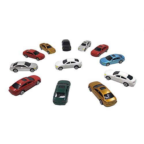 CWBPING 50pcs Mini Model Painted Car 1:100 Scale Building for sale  Delivered anywhere in Canada