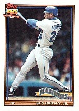 Amazoncom 1991 Topps 790 Ken Griffey Jr Baseball Card
