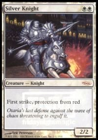 Magic: the Gathering - Silver Knight - FNM 2004 - FNM Promos - Foil -