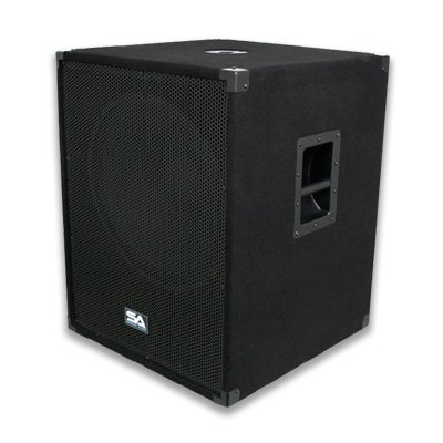 Seismic Audio - PACKAGE - Two 18 Inch PA Subwoofers PRO Audio Band Speaker Cabinets Sub - Band, Bar, Wedding, Karaoke, DJ, 18'' Cabs 1000 Watts RMS
