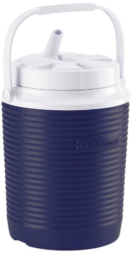 Rubbermaid Victory Jug Water Cooler, 1-gallon, Blue