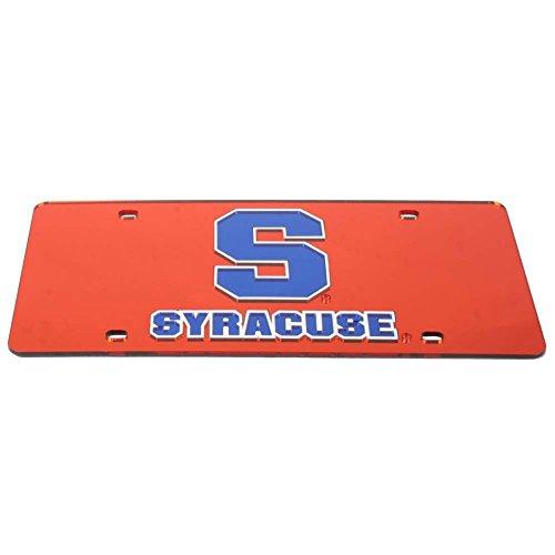 Syracuse Orange License Plate - Orange by Stockdale