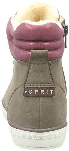 Esprit Mika Bootie, Zapatillas Altas para Mujer Marrón