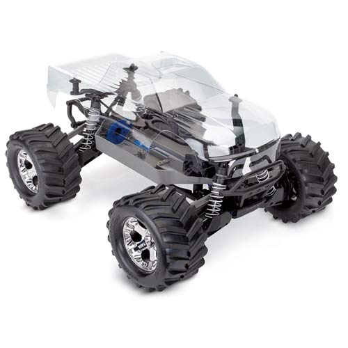 Traxxas 67010-4 Stampede 4 x 4 Unassembled Kit Pre-Cut Clear Stampede Body Full