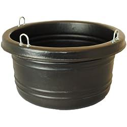 Horsemen's Pride 30 Quart Feed Tub, Black