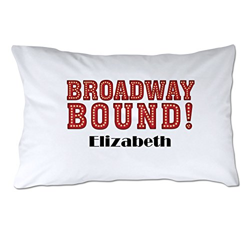 Pattern Pop Personalized Broadway Bound Pillowcase