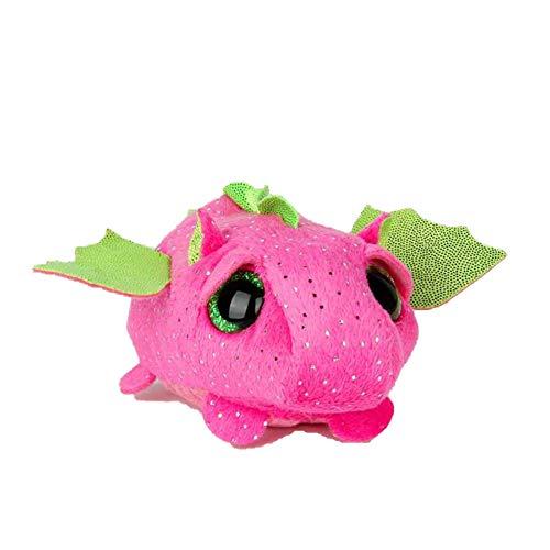 SJSXT 10CM Mini Original Plush Toys Big Eyes Fox Unicorn Pocket Candy Pig Stuffed Doll Pink Owl Baby Kids Gift