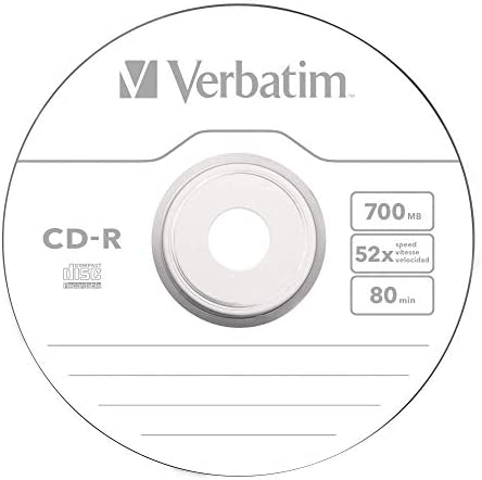 Verbatim 43432 - Pack de 25 CD-R: Amazon.es: Electrónica