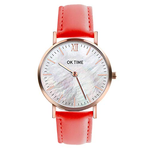 (Classic New Men Watch Wrist Watch Leather Strap Quartz Casual Watches)