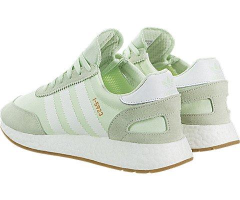 adidas Iniki Runner Womens In Aero Green/White, 9 by adidas (Image #3)
