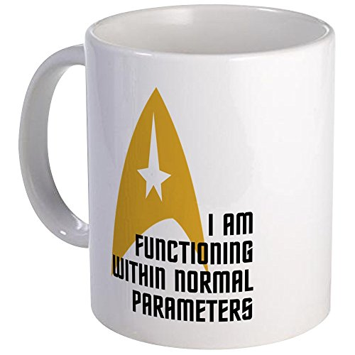 CafePress Star Trek Normal Parameters Mug Unique Coffee Mug, Coffee Cup (Tea Star Trek)
