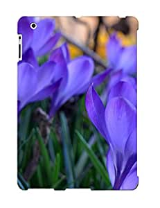 IDIisIt391ilKdO Case Cover Protector Series For Ipad 2/3/4 Purple Crocus Case For Lovers