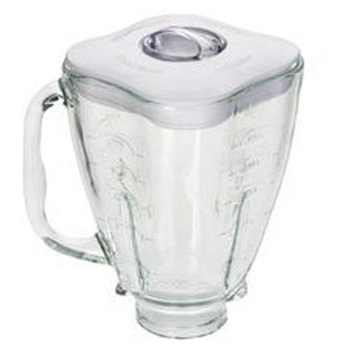 Oster 4918 5-Cup Glass Jar with Lid and Filler Cap Blender Accessory - Osterizer Blender Jar