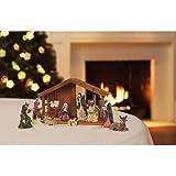 12 Piece Christmas Decor Basic Nativity Set