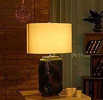 Lámpara de mesa de cerámica de la lámpara del escritorio de ...
