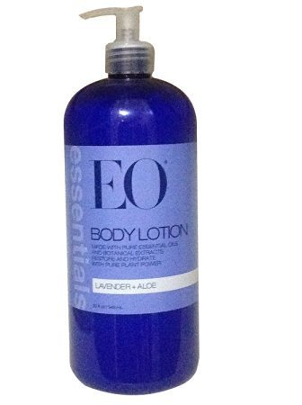 EO Essentials Body Lotion Lavender and Aloe, 32 Ounce (Packaging May Vary)