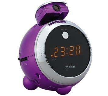Radio despertador con proyector LRE-152PE: Amazon.es: Electrónica