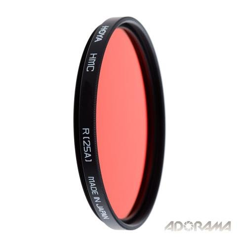 Hoya 52mm Red 25A Multi-Coated Glass Filter by Hoya