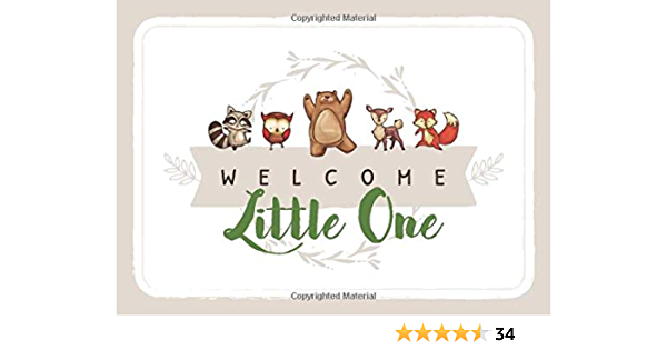 welcome little one   book banner  vintage  party decoration banner garland  nursery rhyme  baby shower  new baby