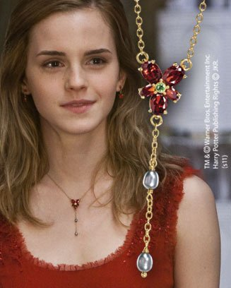 Harry Potter – Hermione Granger's Gold Plated Necklace