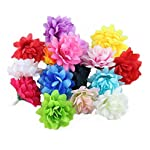 Ewanda-store-100Pcs-Artificial-Silk-Sunflower-Heads-Daisies-Flower-Petals-for-Wedding-Table-Centerpieces-Home-Kitchen-Wreath-Hydrangea-Cupcakes-Topper-DecorationsIvory
