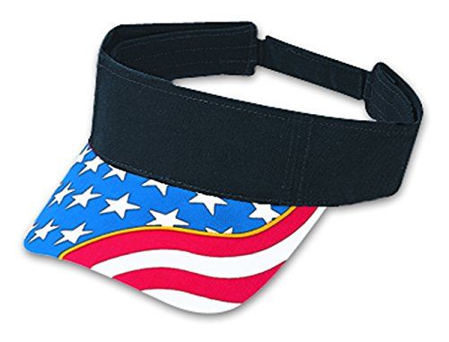 Otto Caps United States Flag with Yellow Ribbon Visor Superior Brushed Cotton Twill