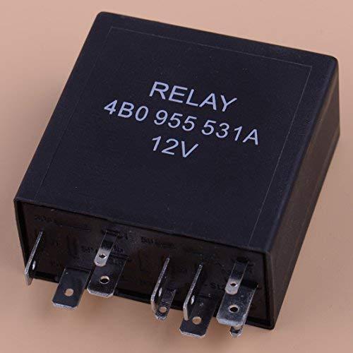 - DDV- US - 11 Pin 377 Intermittent Delay Wiper Motor Control Relay 4B0955531A for VW Golf GTI Passat Jetta Audi A4 A6 A8 4B0955 531