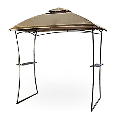 Garden Winds Domed Top Grill Gazebo Replacement Canopy, Rip Lock 350: Garden & Outdoor