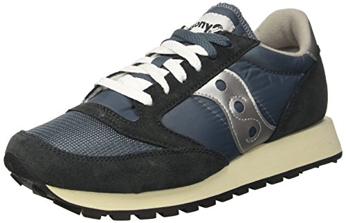Saucony Jazz Originele Vintage Heren Trainers Navy