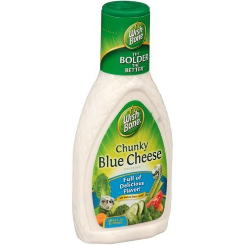 Wish Bone Chunky Blue Cheese Dressing, 8 Fluid Ounce - 12 per case.
