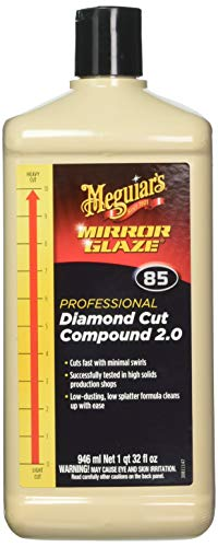 Meguiar's M8532 Mirror Glaze Diamond-Cut Compound 2.0-32 oz.