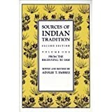 Sources of Indian Tradition, , 0231066503